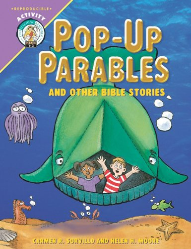 Pop Up Parables and Other Bible Stories; 48 Pages Reproducible (Bible Story Pop Up)