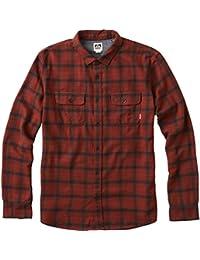 Men's Cold Dip 10 Long Sleeve Plaid Flannel Shirt