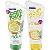 Bare Foot Freeman Foot Balm and Scrub, Lemon and Sage, 2 Count