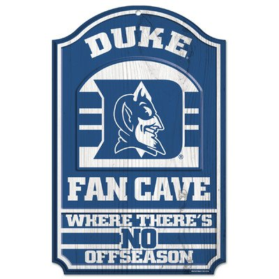 WinCraft NCAA Duke University Wood Sign, 11