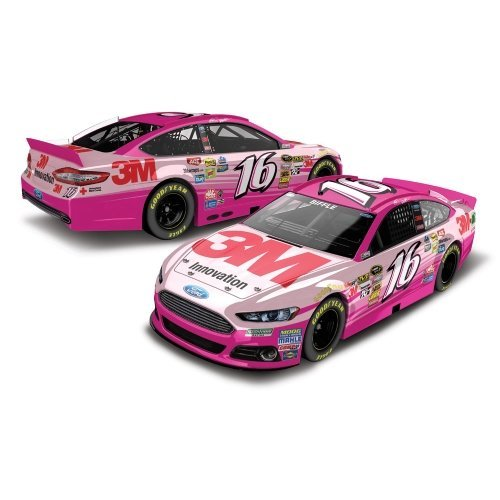 ion 1:24 #16 3M Pink Ford Fusion NASCAR Diecast ()