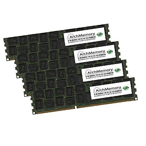 (Arch Memory 32GB (4 x 8GB) 240-Pin DDR2 ECC UDIMM RAM for HP ProLiant ML310e Gen8 v2 Xeon Quad-Core 3.1GHz)