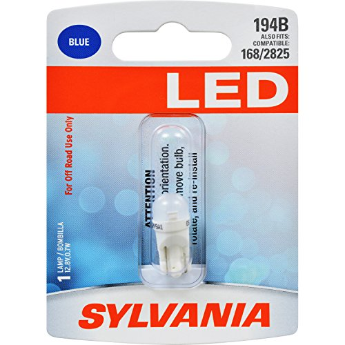 SYLVANIA 194 Blue Bulb Contains