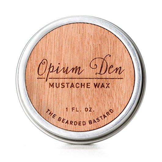 Opium den mustache wax