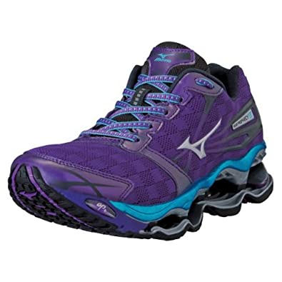 acaef582f2a7 Amazon.com | Mizuno Women's Wave Prophecy 2 Running Shoe, Purple, 6 ...