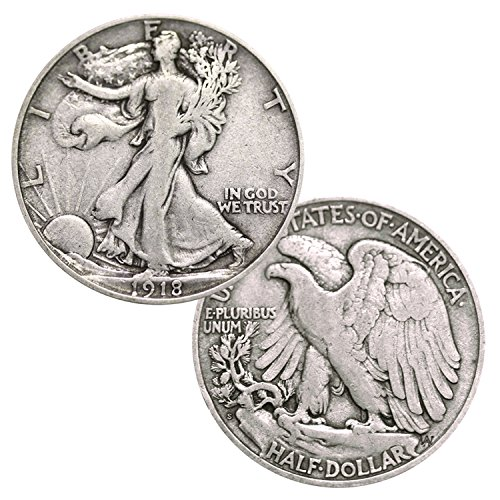 Walking Liberty 90% Silver .50c Half Dollar ()