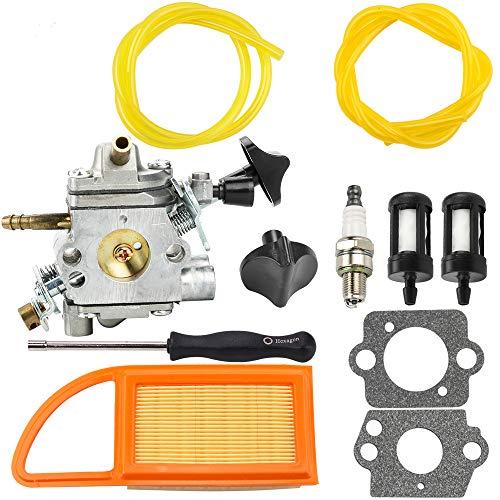 Kuupo C1Q-S183 BR600 Carburetor + Air Filter + Adjusting Tool for Stihl BR500 BR 500 BR550 BR 550 BR 600 Backpack Blower ZAMA C1Q-S184 Carb 4282-120-0606 4282-120-0607 4282-120-0608 (Br 600 Carburetor)