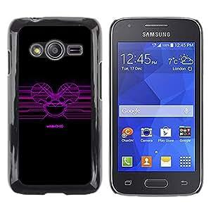 iKiki Tech / Estuche rígido - Deadmaus - Samsung Galaxy Ace 4