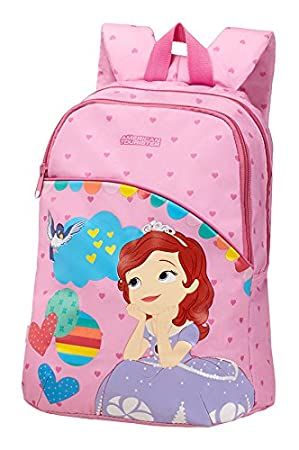 3df8b1fdc6f American Tourister New Wonder Disney Children s Backpack S + Pre School Bag  38 cm blue Sofia