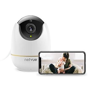 Cámaras de Vigilancia WiFi, Netvue HD Cámaras IP Full HD 1080P con Alerta de Detección