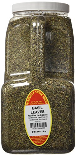 Marshalls Creek Spices Basil Leaves, XX-Large, 2 Pound by Marshall's Creek Spices