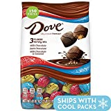 DOVE PROMISES Variety Mix Chocolate Halloween Candy, 43.07-Ounce Bag 153 Pieces