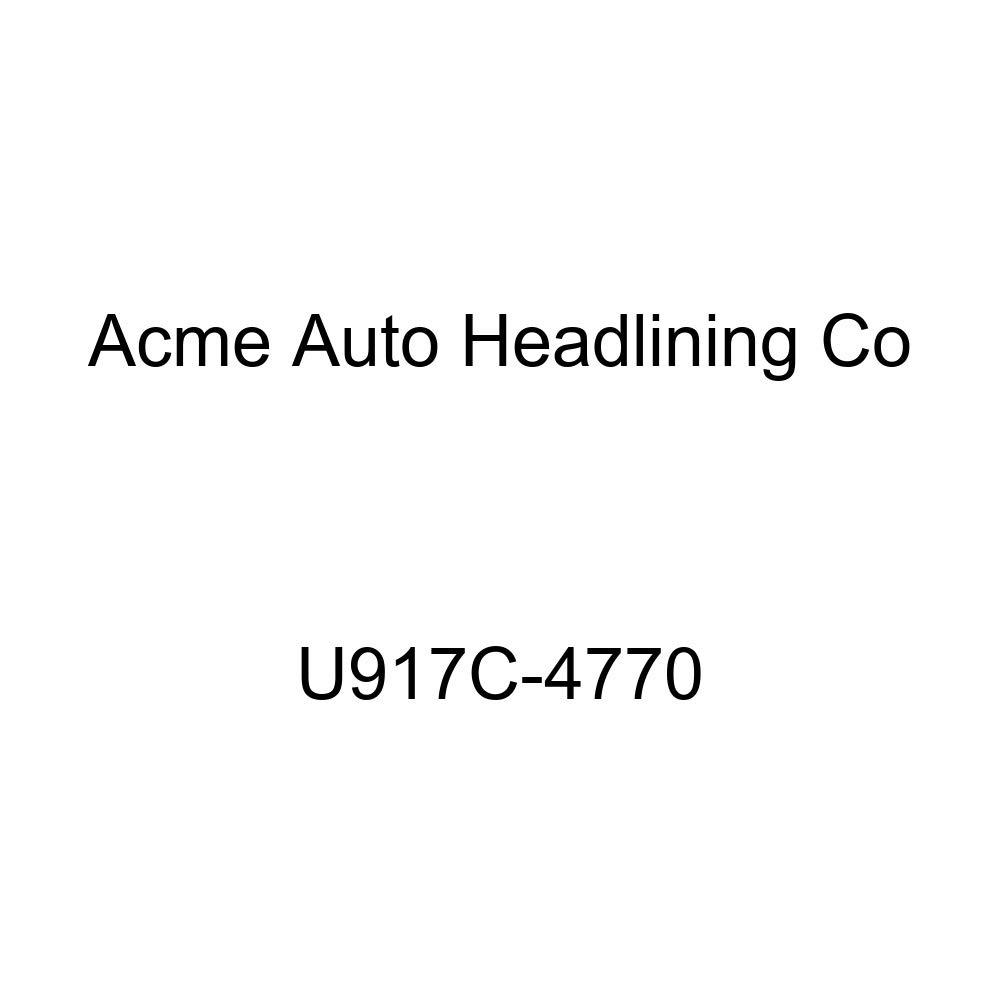 Acme U917C-4770 Front and Rear Light Green Vinyl Bench Seat Upholstery