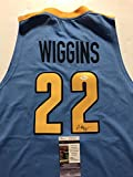Autographed/Signed Andrew Wiggins Huntington Prep High School Basketball Jersey JSA COA