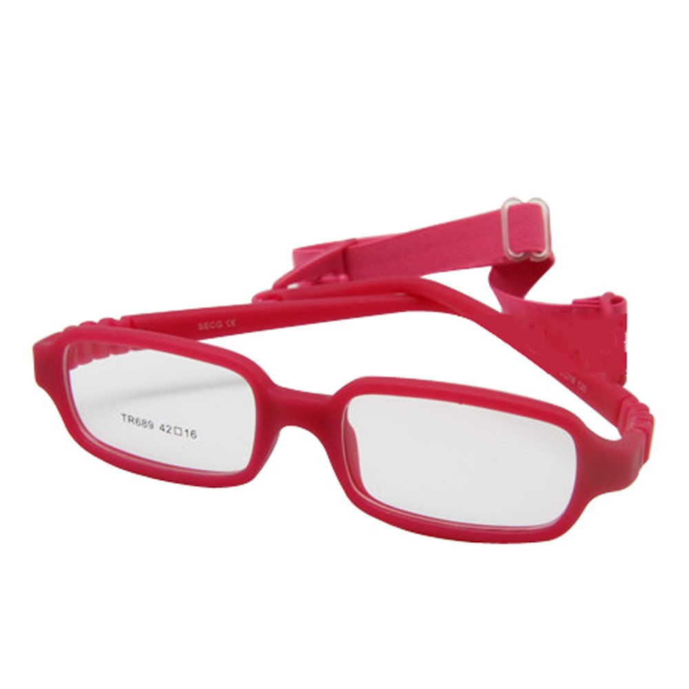 Amazon.com: EnzoDate Baby Optical Glasses Frame Size 40 with Strap ...