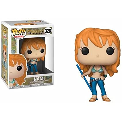 d48f6aff744 Anime  Onepiece - Nami Collectible Toy  Funko Pop! Animation   Toys   Games