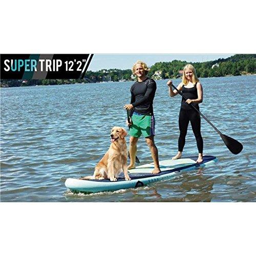 aqua marina super trip isup with dog