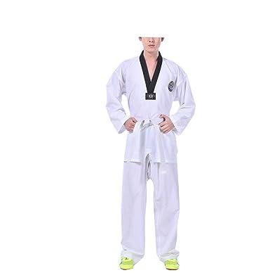 Traje de Taekwondo de Estiramiento Adulto de Manga Larga ...