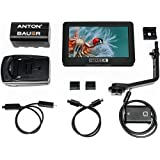 """SmallHD FOCUS 5"""" On-Camera Touchscreen Daylight Visibility Monitor Kit with NP-FW50 Faux Battery Adapter to Sony Cameras"""