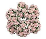 100 Sweet Pink 15mm Artificial Mulberry Paper