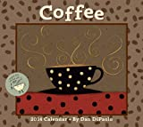 Coffee 2014 Deluxe Wall Calendar