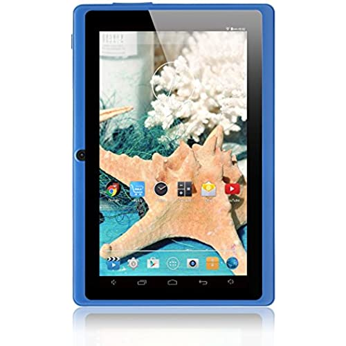 iRULU eXpro X1 7 Inch Google Android Tablet PC, 1024x600 Resolution, 8GB Nand Flash, Wi-Fi, Games, Dual Cameras (Blue) Coupons