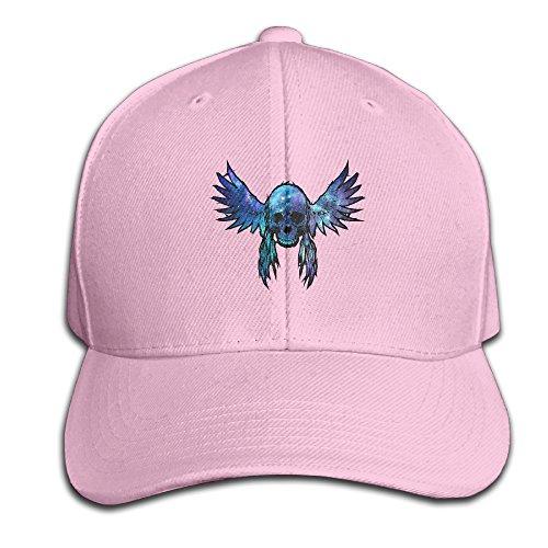 Galaxy Angle Skull Wings Universe Snapback Sandwich Cap Pink Baseball Cap Hats Adjustable Peaked Trucker - Snapback Universe