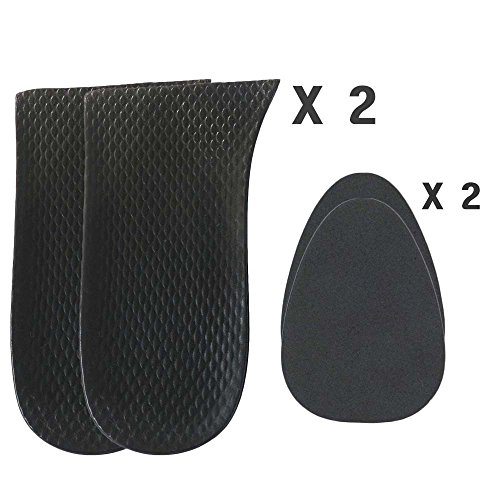 3/4 Inch(20mm) Heel Cushions Pads Inserts Lifts For Limb Leg Length Discrepancies Sold Individually (2 Lefts + 2 Fillers)