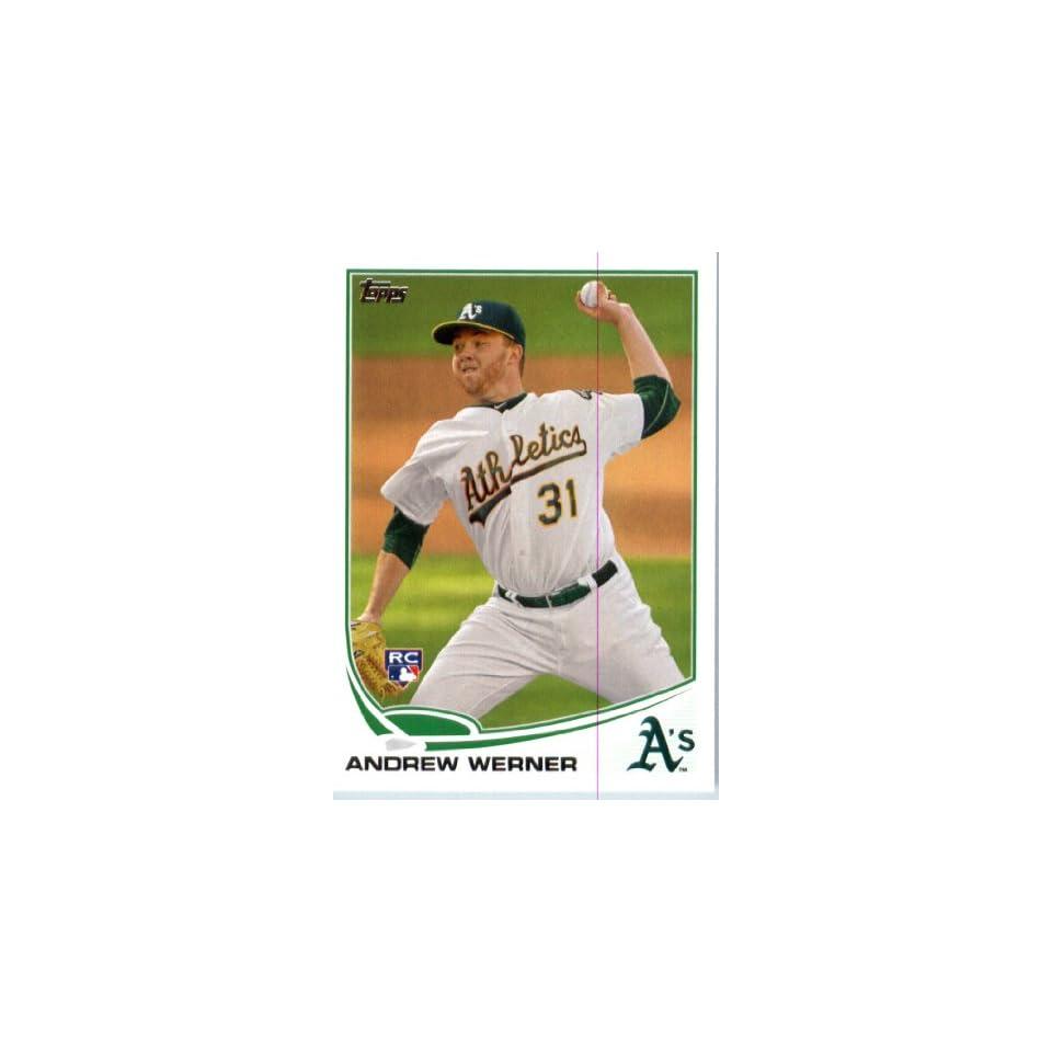 2013 Topps Baseball Card IN SCREWDOWN CASE #433 Andrew Werner ENCASED