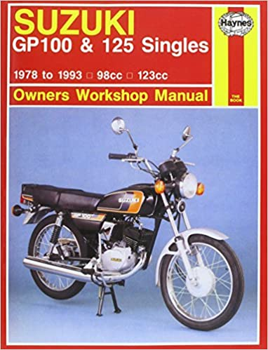 Suzuki gp100 and 125 singles owners workshop manual motorcycle suzuki gp100 and 125 singles owners workshop manual motorcycle manuals chris rogers pete shoemark 9781850109297 amazon books fandeluxe Choice Image