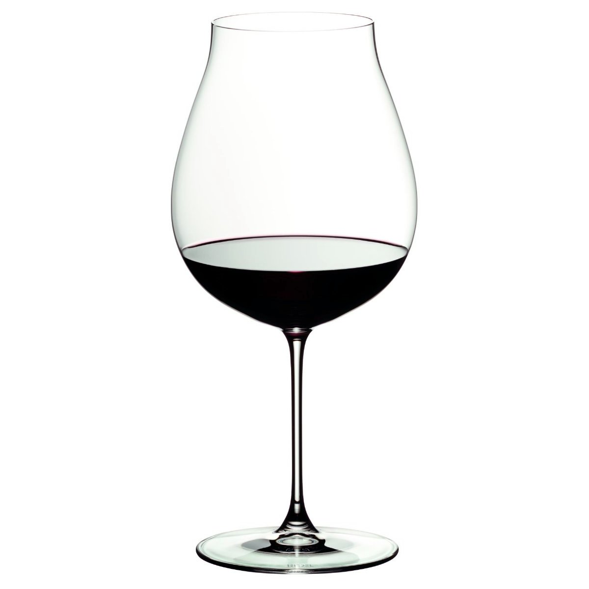 Riedel Veritas Leaded Crystal New World Pinot Noir Wine Glass, Set of 8