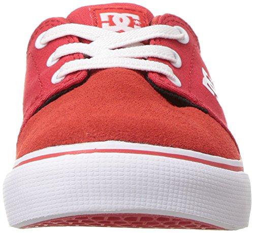 DC Jungen Trase Schein T Schuh, EUR: 25.5, Red/White