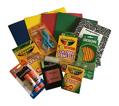 School Supply Bundle - Upper Elementary Students - Crayola Fiskar Dixon Elmers