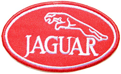 JAGUAR Car Logo Sign Racing Car Patch Iron on Applique Embroidered T shirt Jacket BY SURAPAN (Jaguar Type Set Xj)