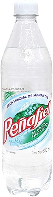 Peñafiel Agua Mineral Natural, 600 ml (el empaque puede variar)