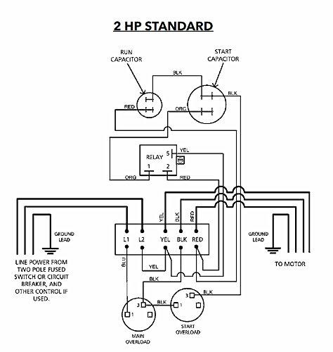 CB20412CR CentriPro Submersible Pump Control Box 2 HP 230 V Goulds
