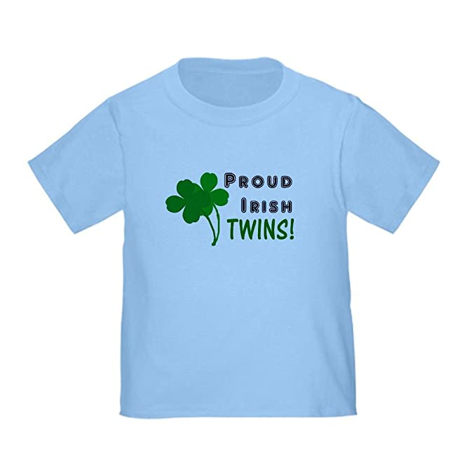 Amazon.com: CafePress – Gemelos irlandés – Cute bebé T-Shirt ...