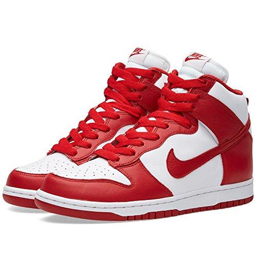 Nike Dunk Retro Qs St. Johns Université Blanc Rouge 850477-102