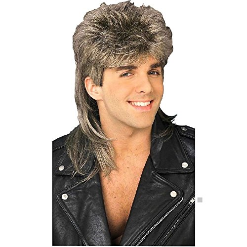 Dirty Blonde Mullet Wig Costume Accessory Mens Joe Dirt Redneck Hillbilly - Talk Dirty Costume