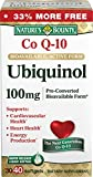Nature's Bounty Ubiquinol, 40 Softgels, 100 mg