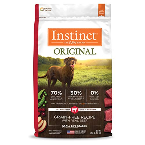Top 9 best dog food instinct original beef 2020