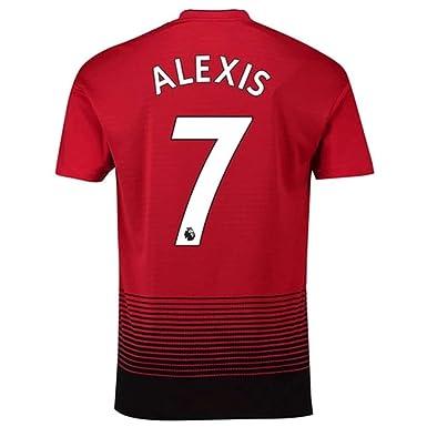 newest 92b88 77602 Amazon.com: Men's Alexis Sanchez #7 Jersey Manchester United ...