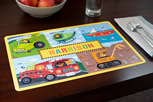 Kids placemats personalized placemat