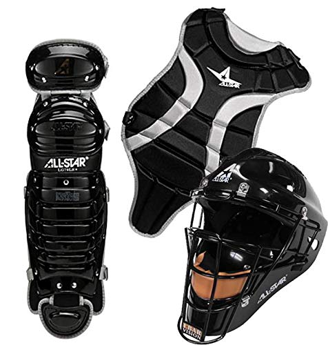 All-Star Youth League Series Catchers Gear Sets Ages 7-9 Black