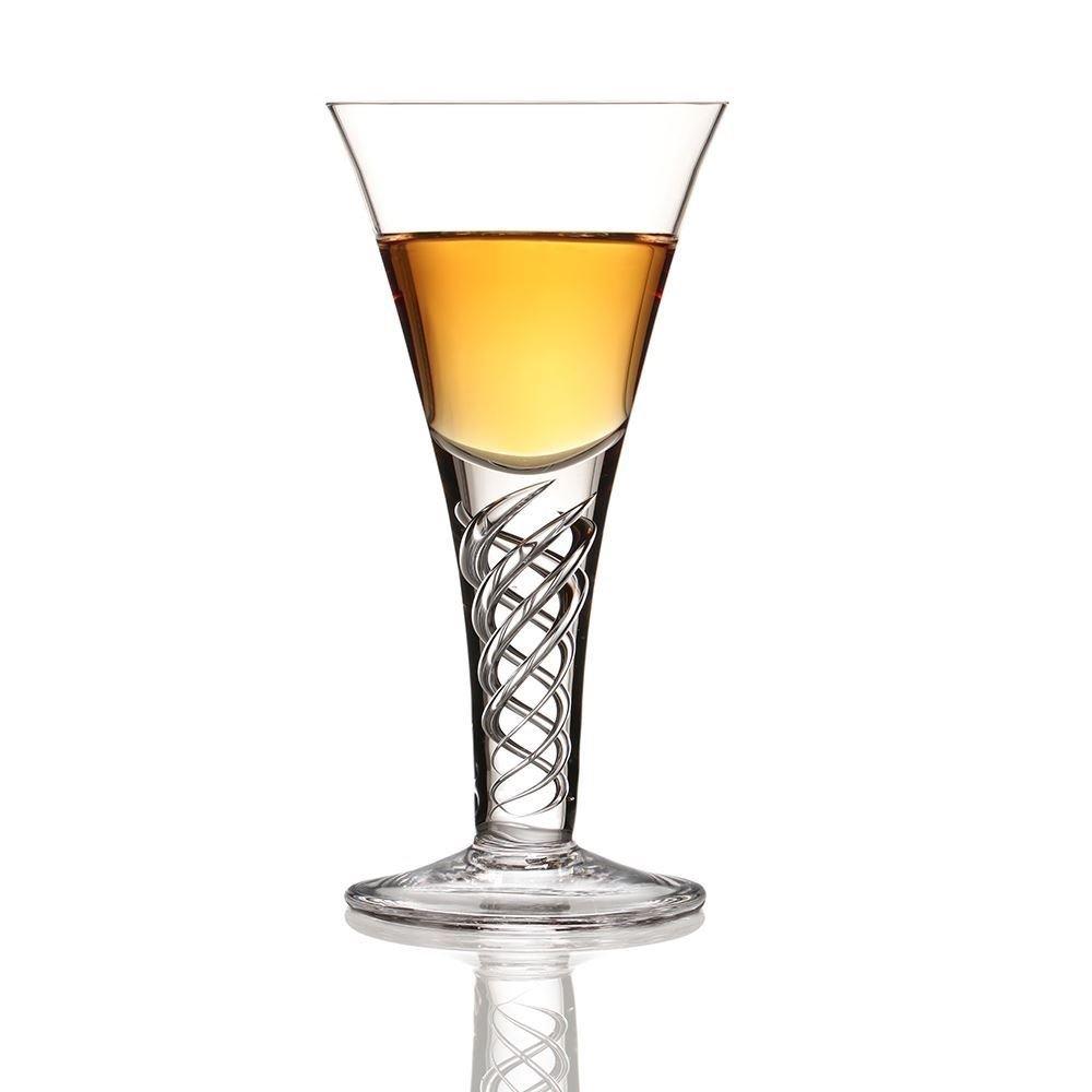 Burns Crystal The Jacobite Dram Whisky Toasting Glass 2 floz
