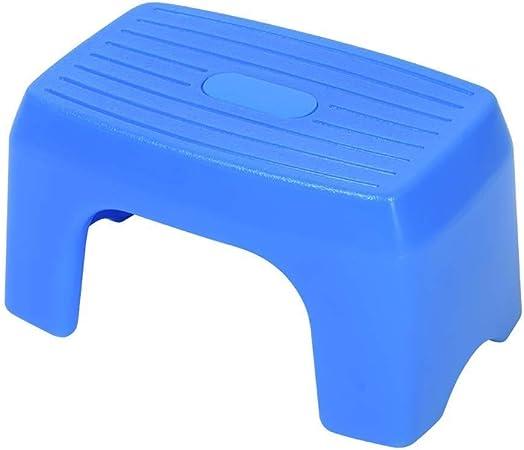 Taburete del paso del bebé, taburete plástico de la escalera del escabel del taburete de los