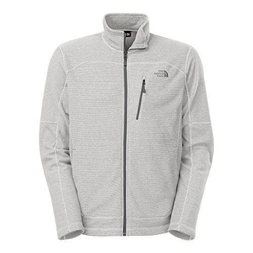 Transition Midweight Jacket - The North Face Mens Texture Cap Rock Jacket High Rise Grey Large