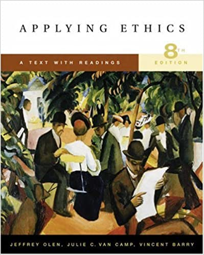 Amazon applying ethics a text with readings with infotrac amazon applying ethics a text with readings with infotrac 9780534626587 jeffrey olen julie c van camp vincent barry books fandeluxe Choice Image