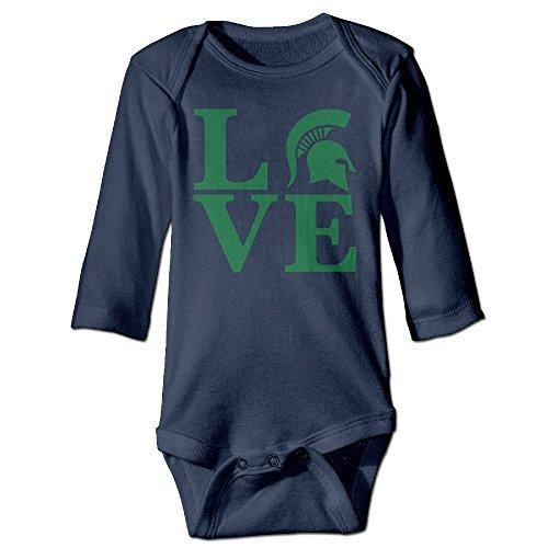 Michigan State Infant Wear - 1
