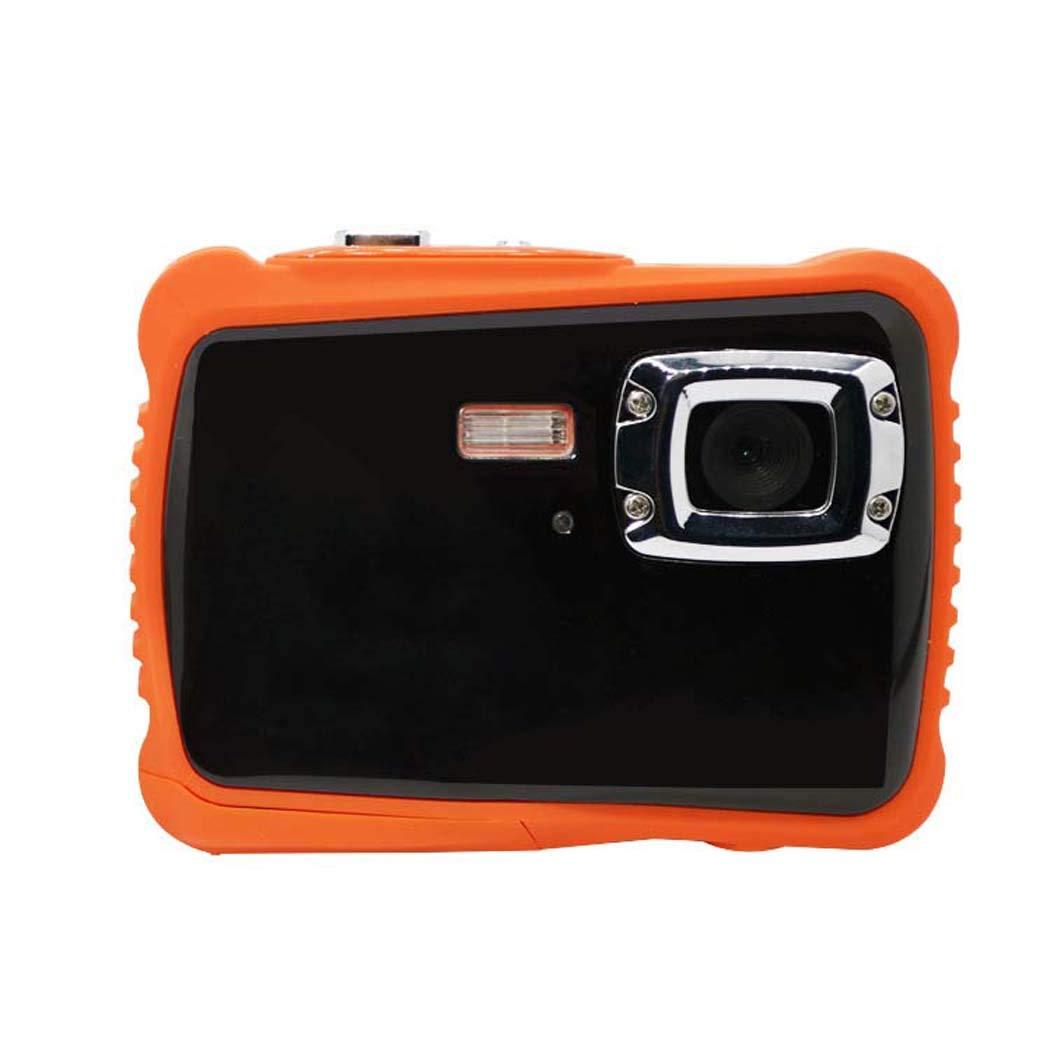 SIPENGFEI Wasserdichte Shatterproof Staubdichte Kinderkamera, 12Mp 2.0 Zoll HD Unterwasseraktions-Kamera-Kamerarecorder, 4X Digital-Zoom, Für Jungen-Mädchen-Feiertags-Geburtstags-Geschenk Black